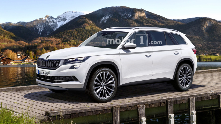 Skoda Kodiaq spy photos