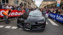 Bugatti Chiron at Le Mans Parade