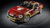 Abarth 124 Spider rally version