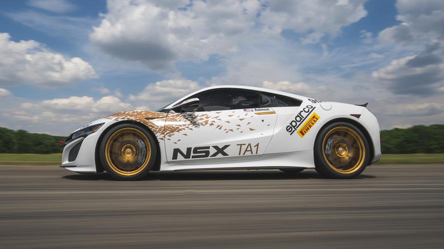 2017 Acura NSX to make U.S. racing debut at Pikes Peak