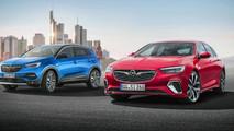 Opel Insignia GSi and Grandland X