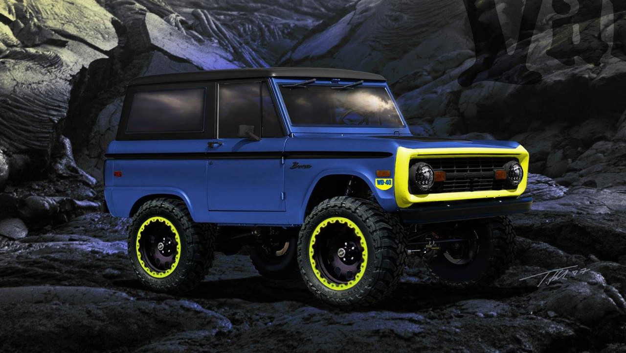 WD-40 Ford Bronco SEMA