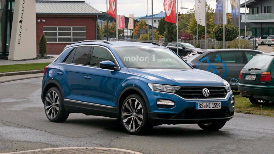 VW T-Roc R Seen At Nurburgring With Golf R's 310 HP Engine