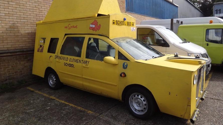 El autobús de Los Simpson (o algo parecido) sale a la venta