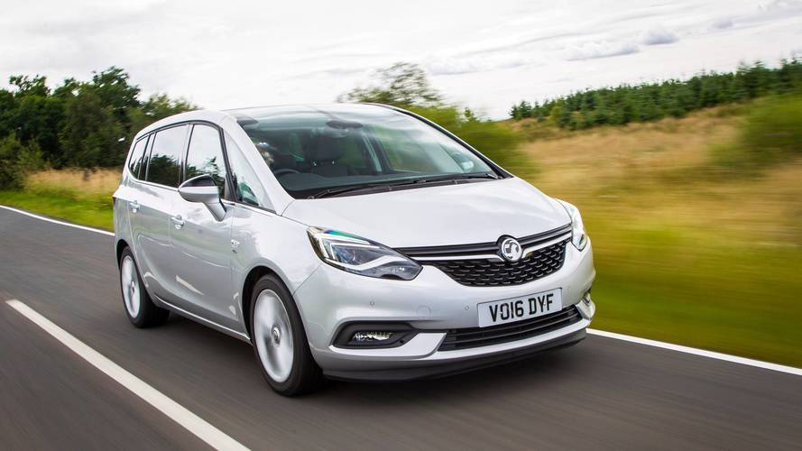 Vauxhall Zafira Tourer gets updated infotainment system