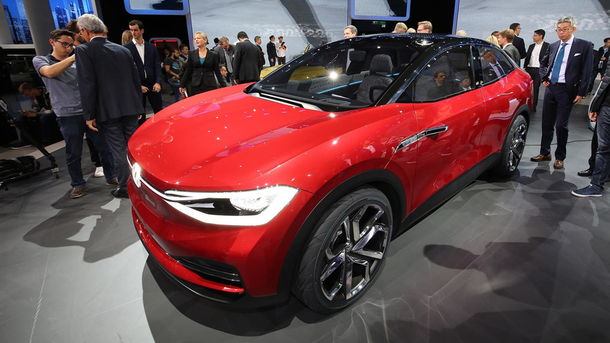 VW I.D. Crozz II Concept Imagines More Stylish Electric CUV