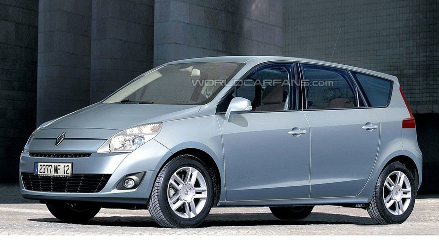 New Renault Scenic Latest Spy Photos & Rendering