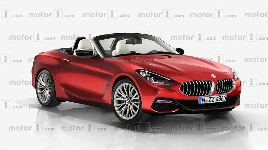 Bmw Z4 Render Attempts To Turn The Concept Into A Production Car