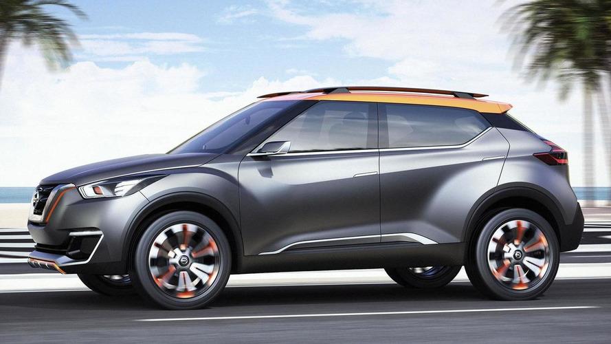 Nissan Kicks concept revealed ahead of Sao Paulo Motor Show debut [video]