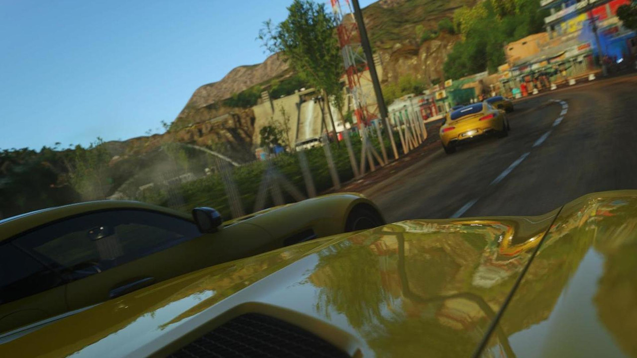Mercedes-AMG GT in Driveclub
