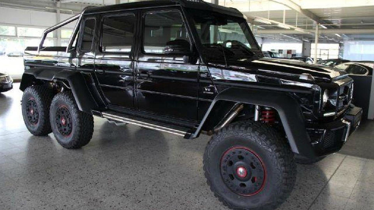 Mercedes Benz G63 Amg 6x6 Listed For Sale At 975 000 Usd