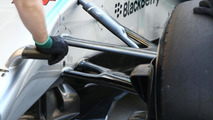 Mercedes AMG F1 W05 front suspension detail / XPB