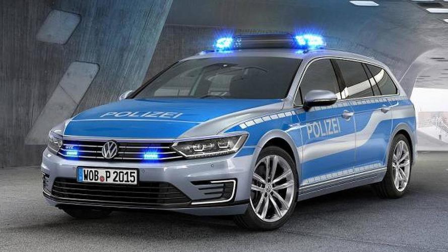 German police gets a hybrid Volkswagen Passat GTE
