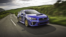 2015 SUBARU WRX STI AT ISLE OF MAN TT COURSE