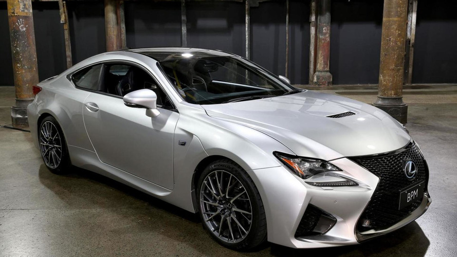 Lexus unveils an electro-luminescent RC F Coupe [video]