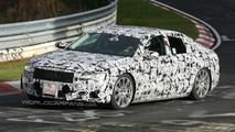 2011 Audi A8 Prototype testing on Nurburgring