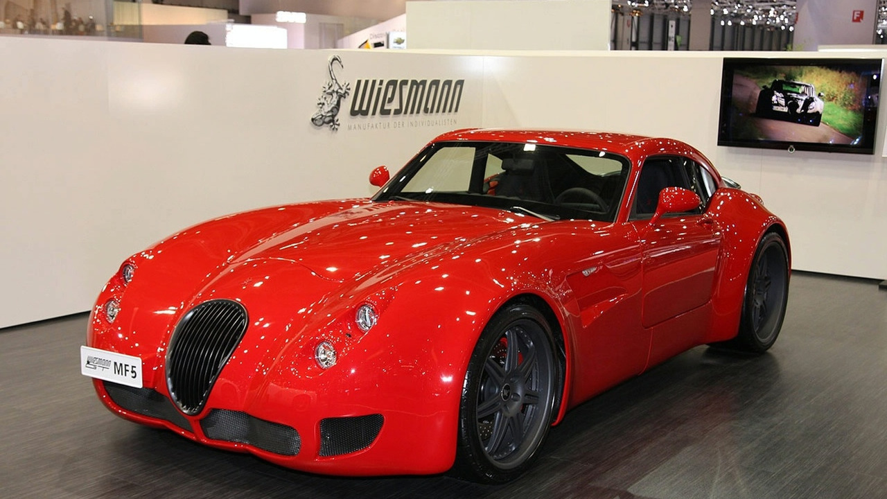 Wiesmann MF4 at Geneva 2009