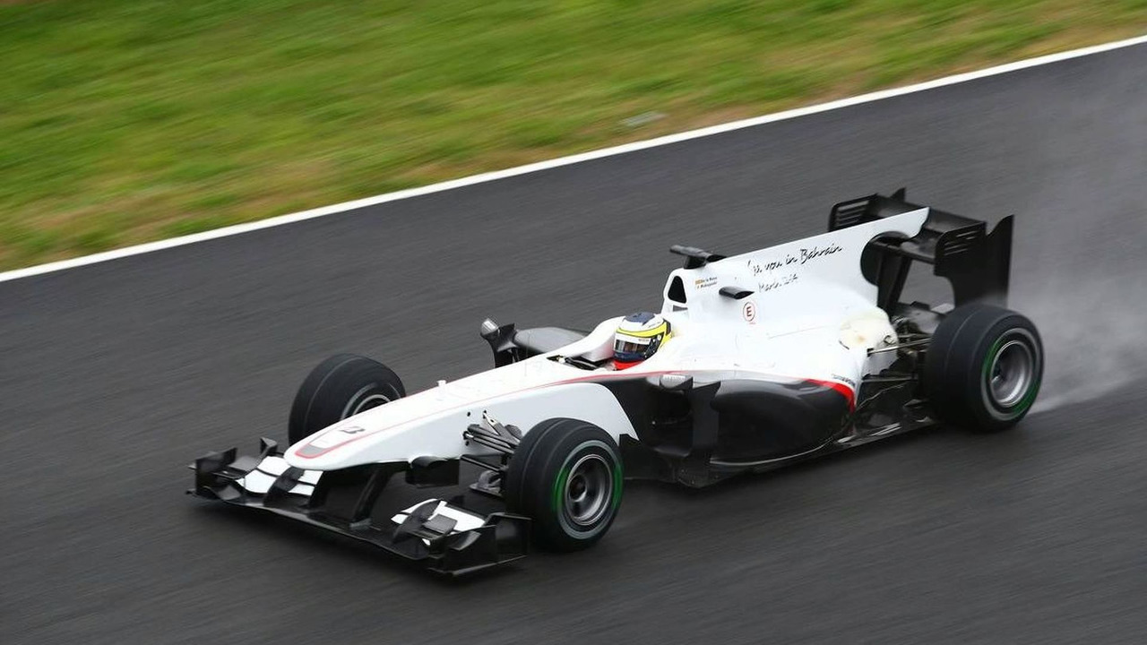 Pedro de la Rosa (ESP), BMW Sauber F1 Team, C29, 12.02.2010, Jerez, Spain