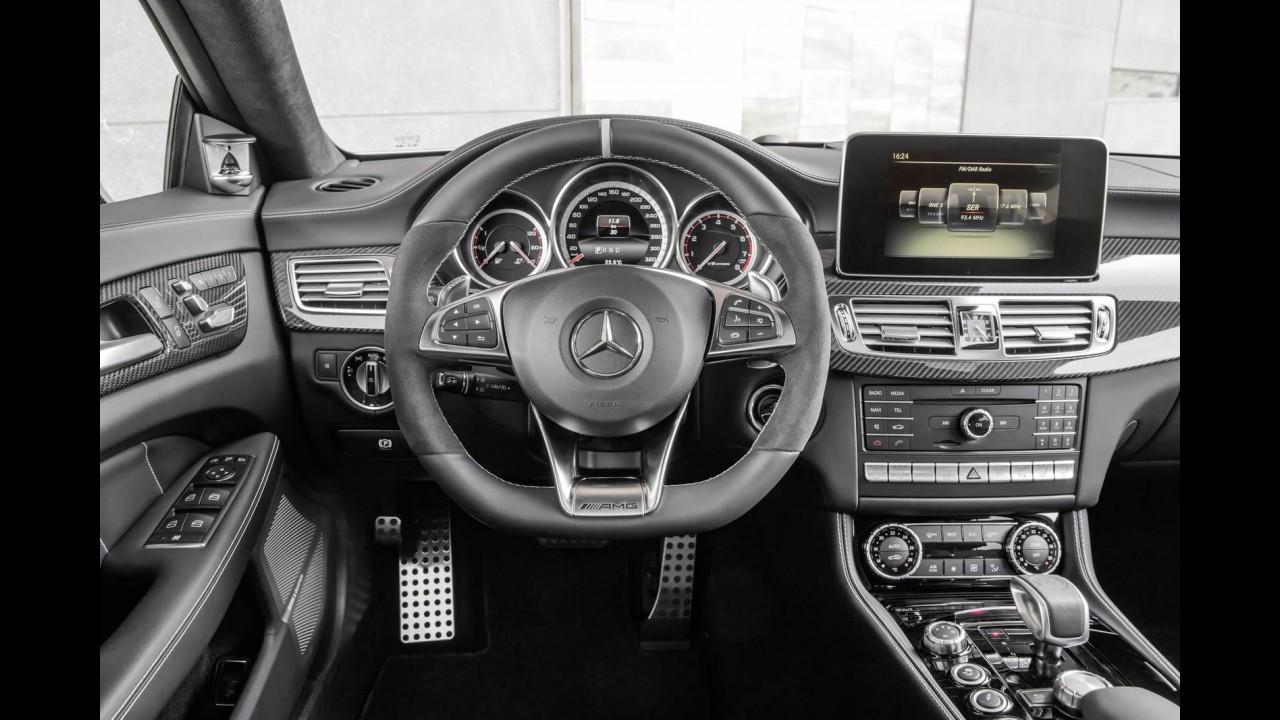 Mercedes CLS 2015 é apresentado com novo visual e câmbio de nove marchas