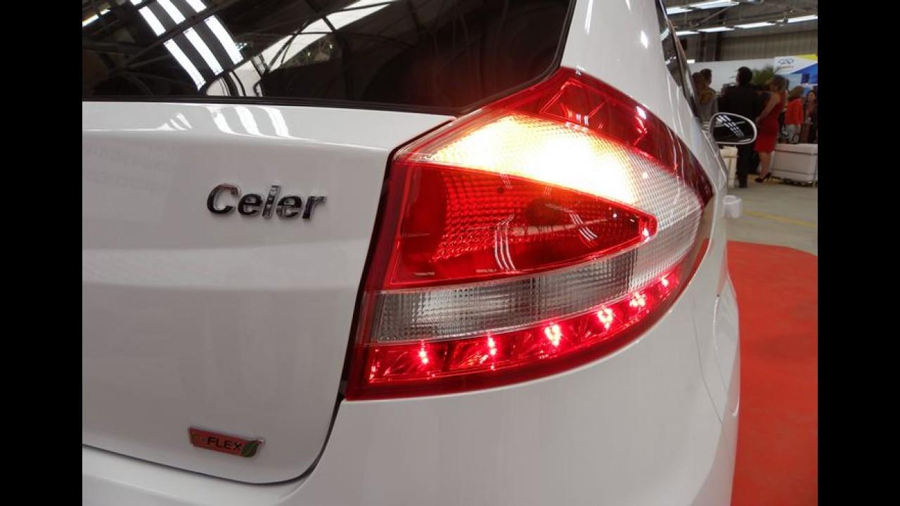 Novos Chery QQ e Celer em versões especiais estarão no Salão do Automóvel