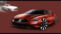 Designer da Volvo cria releitura do clássico P1800, mas não sairá do papel
