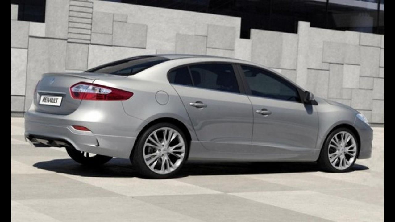 Renault Fluence terá versão Turbo em 2012