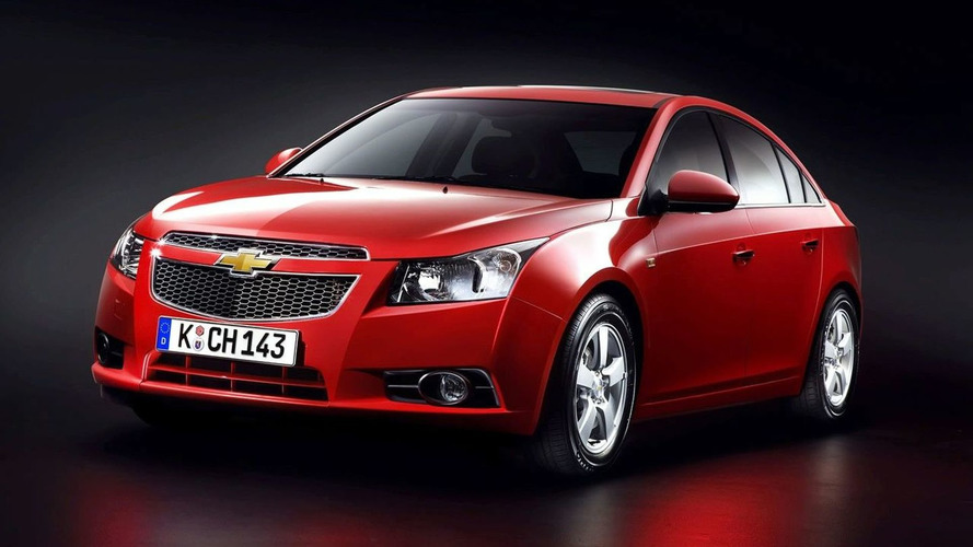 Chevrolet Aggressively Prices Cruze for UK market