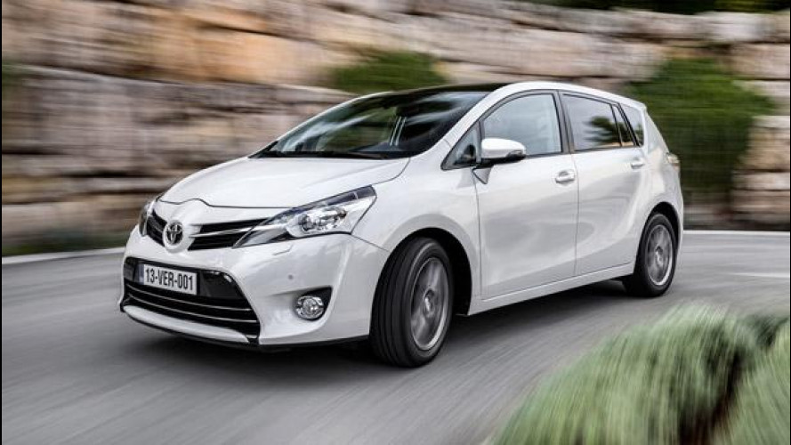 Toyota Verso restyling, carattere europeo