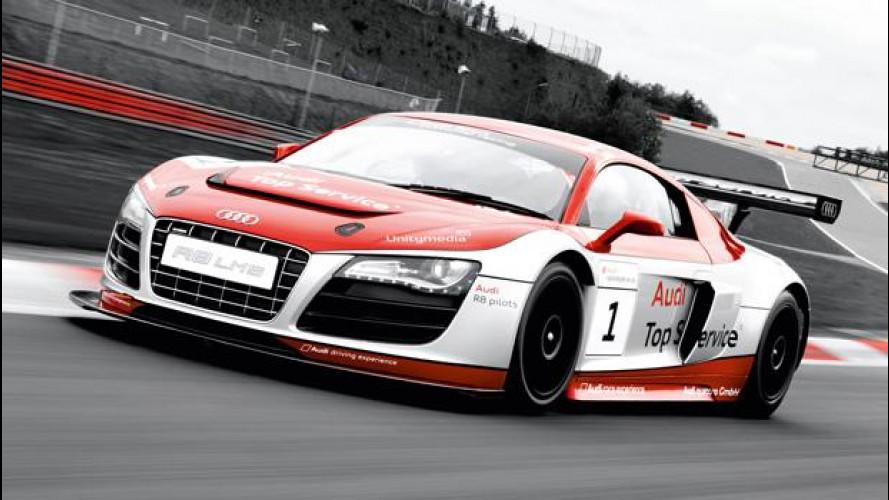 Audi e Lamborghini al World Ducati Week 2012