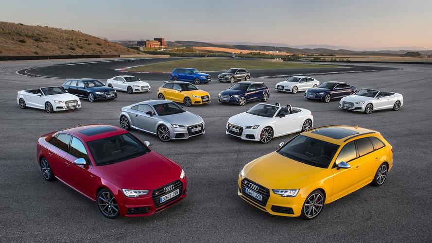 Gama S de Audi 2017: prueba en circuito