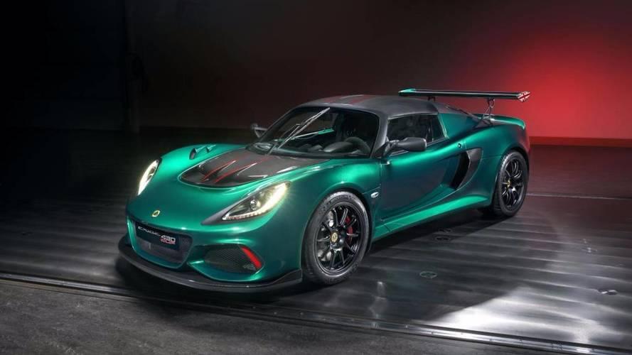 Elkészült a legextrémebb Lotus Exige, a Cup 430