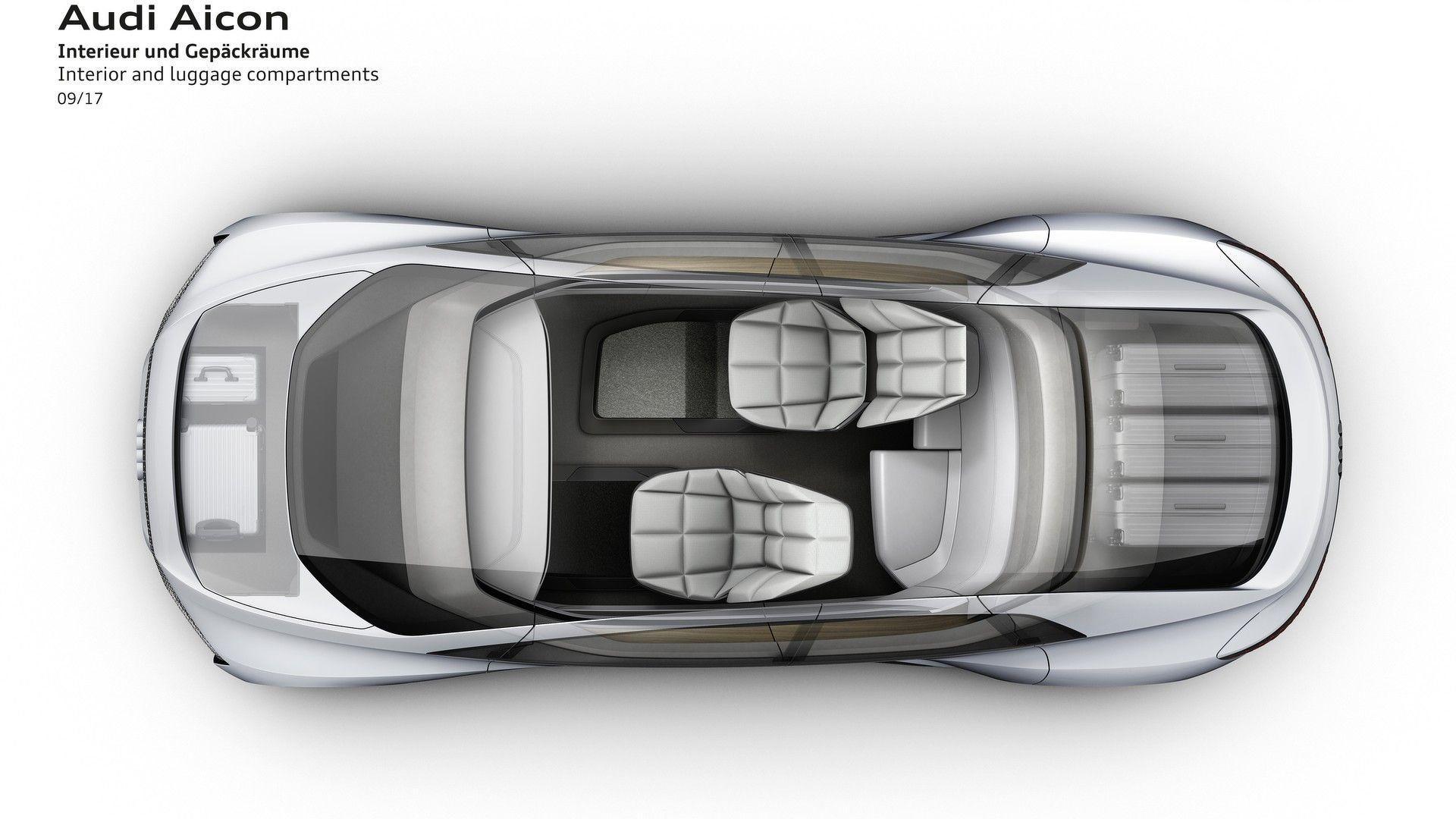 2018 audi elaine. Modren Audi Audi Aicon And Elaine Preview Autonomous Tech Of The Future To 2018