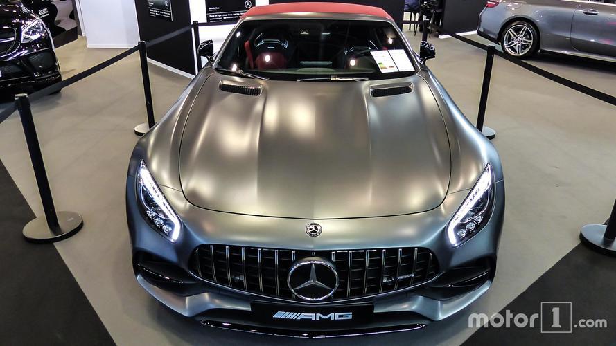 Mercedes rappelle plus de 1200 Mercedes-AMG GT aux USA