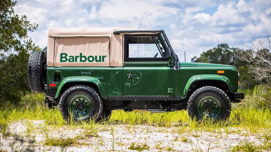 Project Barbour sahip olabileceğiniz özel  yapım bir Defender