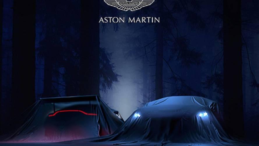 Aston Martin Vantage'den sisli teaser