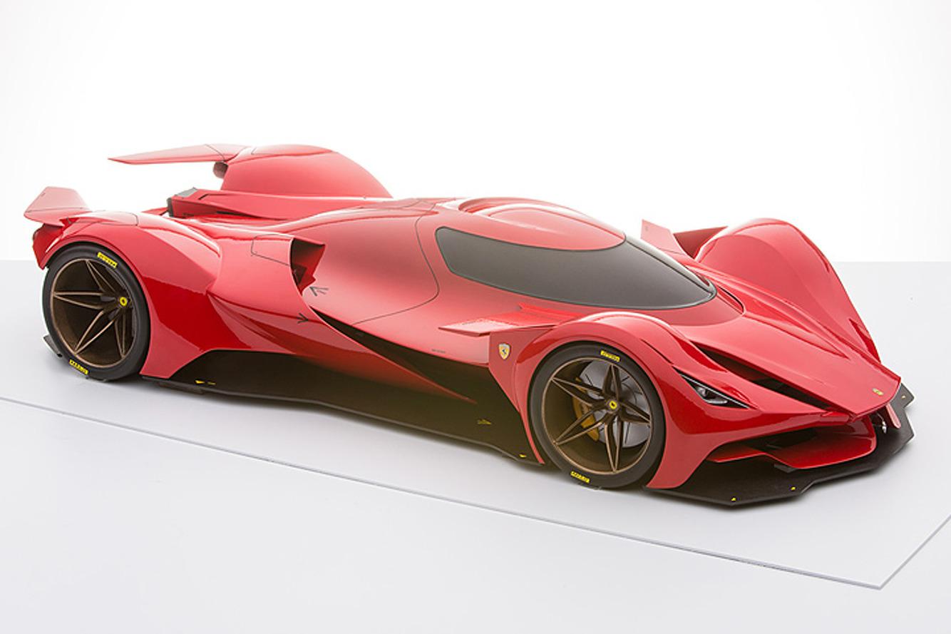 This Ferrari Le Mans Prototype Doesn't Exist, But it Should