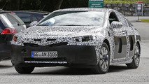 Next-generation Opel Insignia spied wearing a production model
