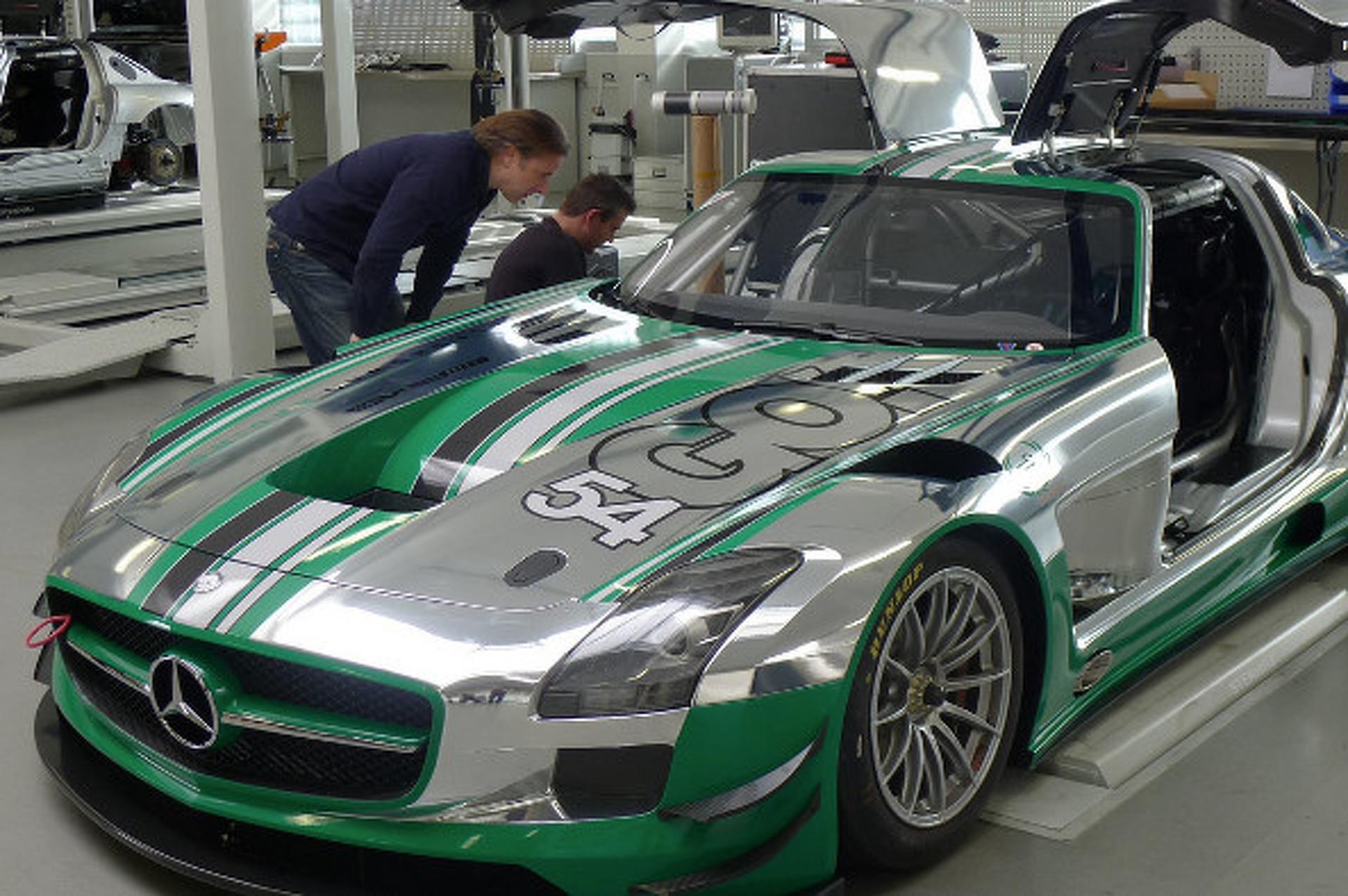 Black Swan Racing Set to Field a SLS AMG GT3