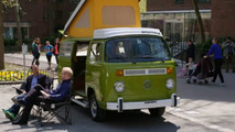 VW Bus Comedians in Cars