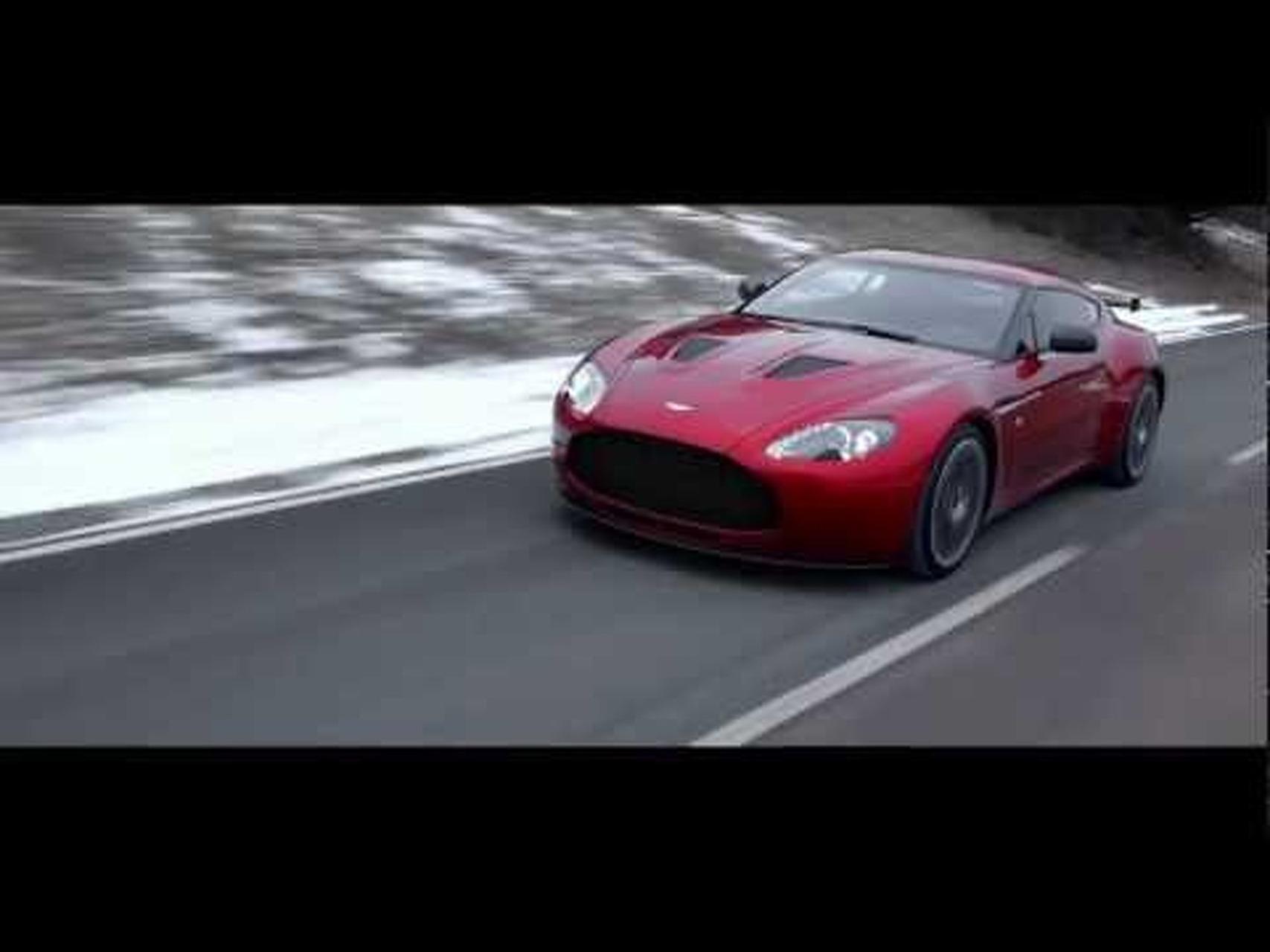 The Aston Martin V12 Zagato
