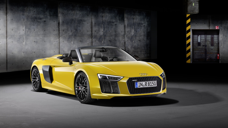 Audi R8 Spyder: disponible à partir de 184 000 €