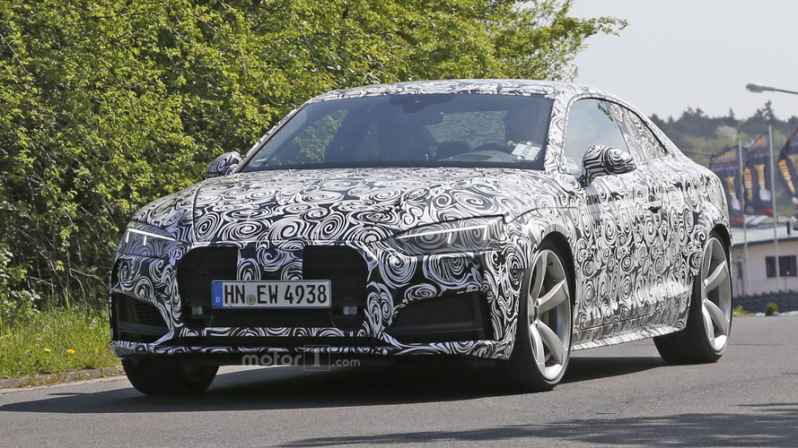 Audi RS 5 brings its swirly camo back to the 'Ring