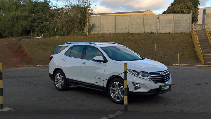 FLAGRA - Chevrolet Equinox aparece limpo e deve chegar em outubro