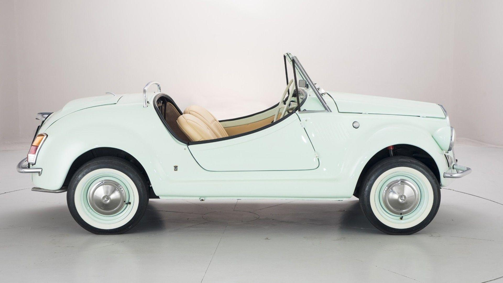 Favoloso Fiat 500 Gamine By Vignale Is An Adorable Two-Cylinder Cabrio QH67