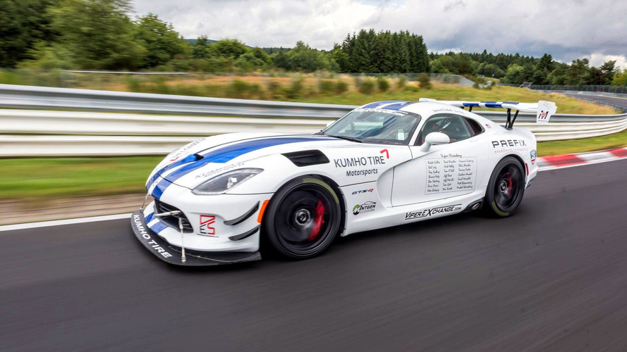 Crowdfunded Dodge Viper ACR Records 7:03.45 On First 'Ring Run