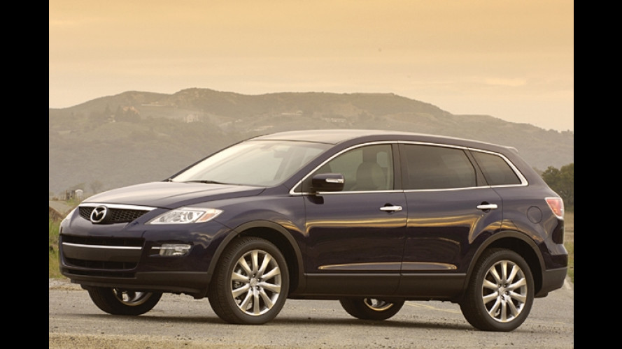 Ami-SUV: Mazda präsentiert CX-9 mit V6-Motor