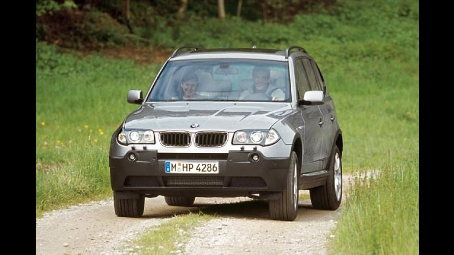 BMW X3 2.0d: Neuer Einstiegsdiesel für den Allradkombi