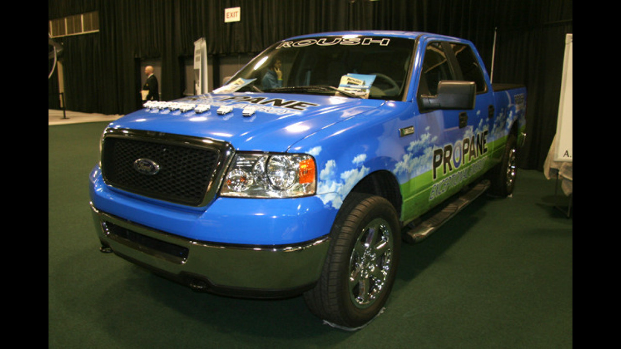 Roush Propane powered F-150