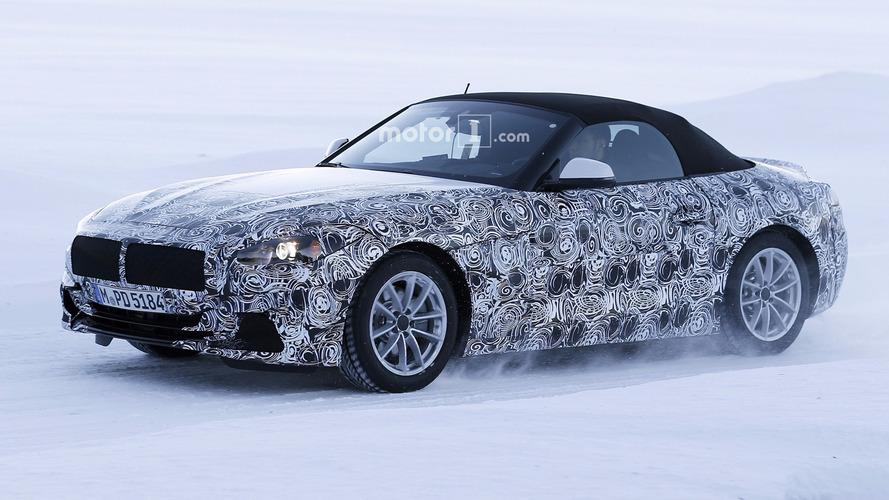 2018 BMW Z5 kamuflajı azalttı