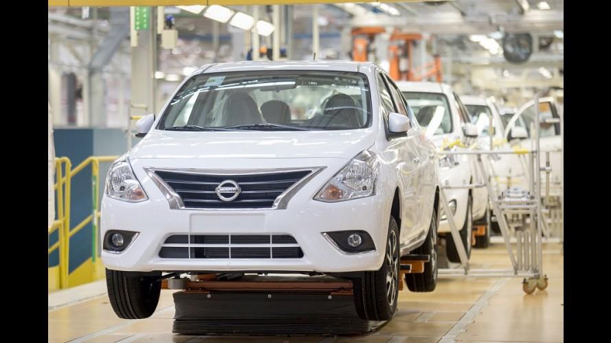 Nissan: paralisação na fábrica de Resende e 1,1 mil de férias coletivas